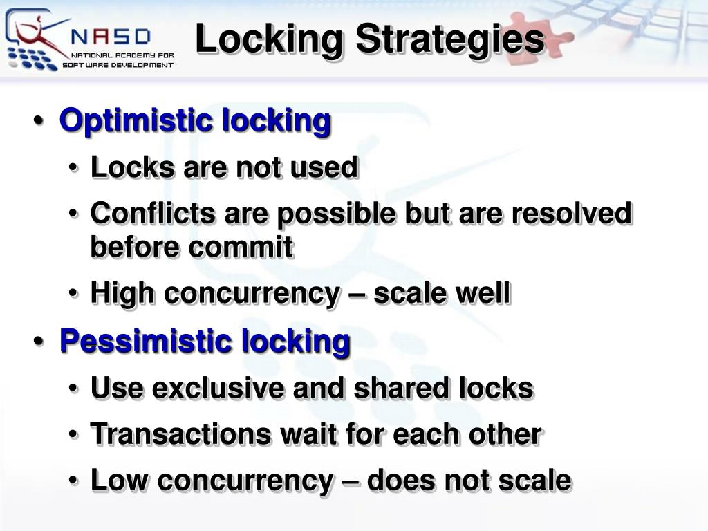 Locking Strategies
