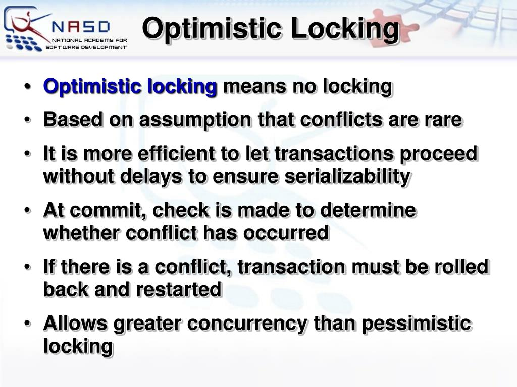 Optimistic Locking