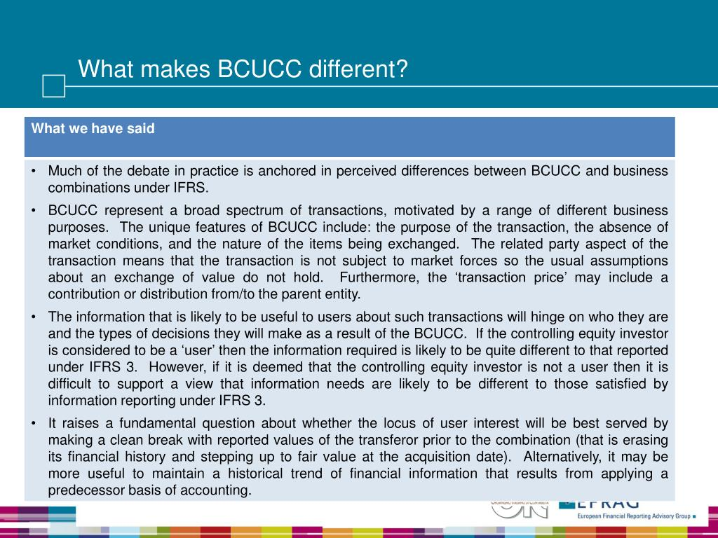 What makes BCUCC different?