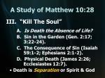 a study of matthew 10 2816