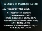 a study of matthew 10 2819