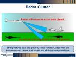 radar clutter