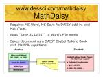 www dessci com mathdaisy mathdaisy