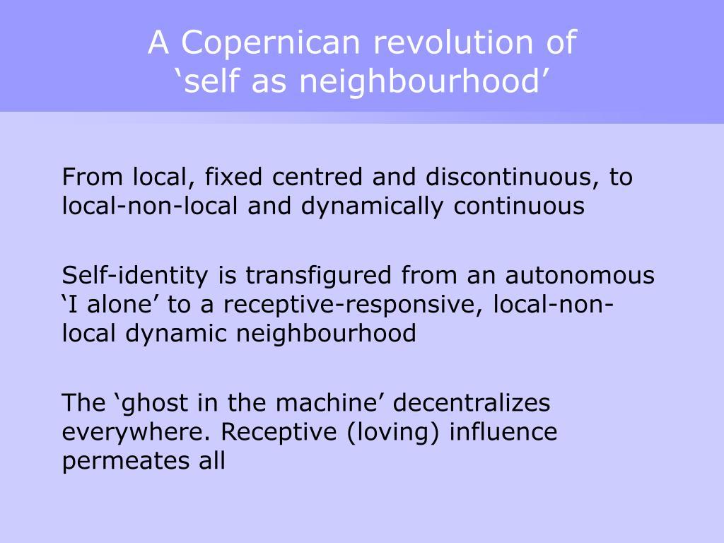 A Copernican revolution of