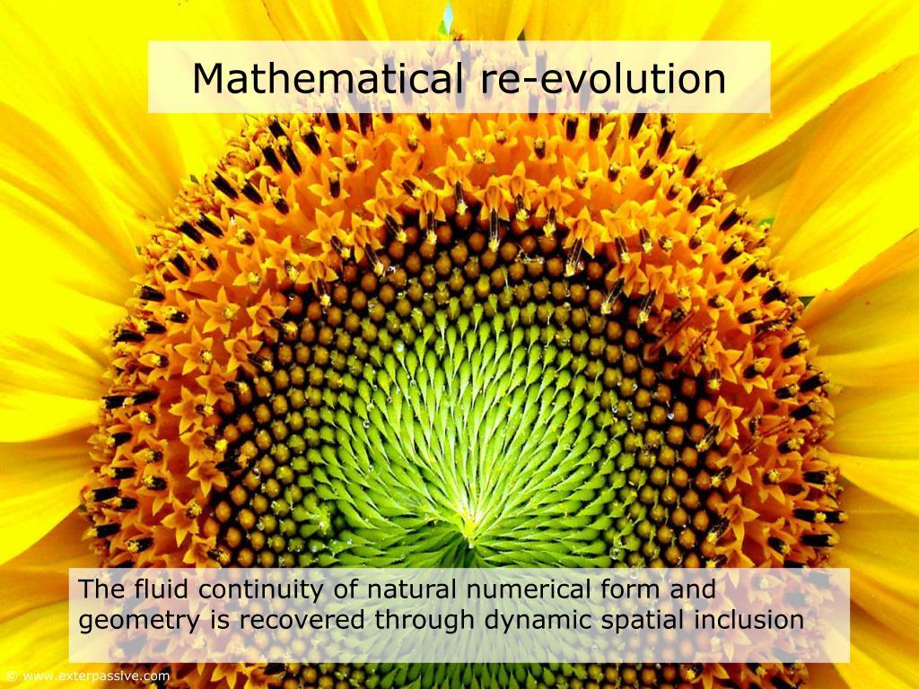 Mathematical re-evolution