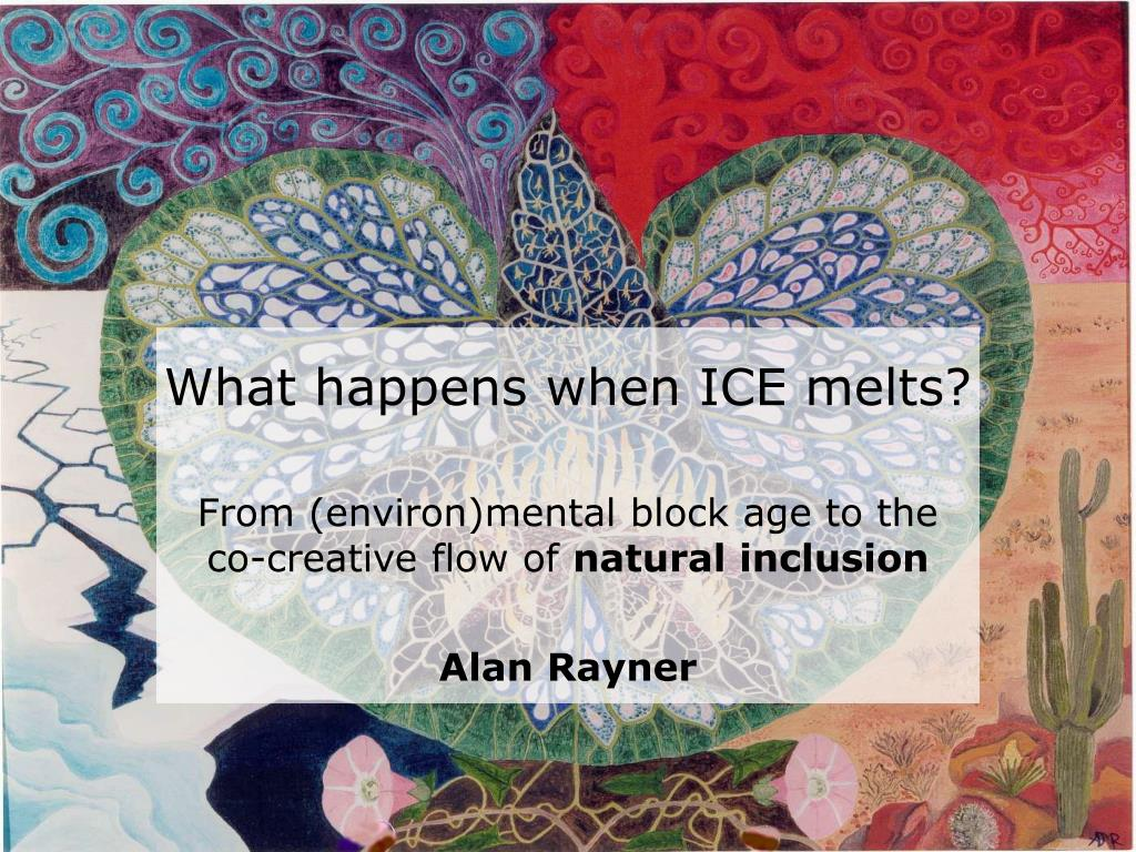 What happens when ICE melts?