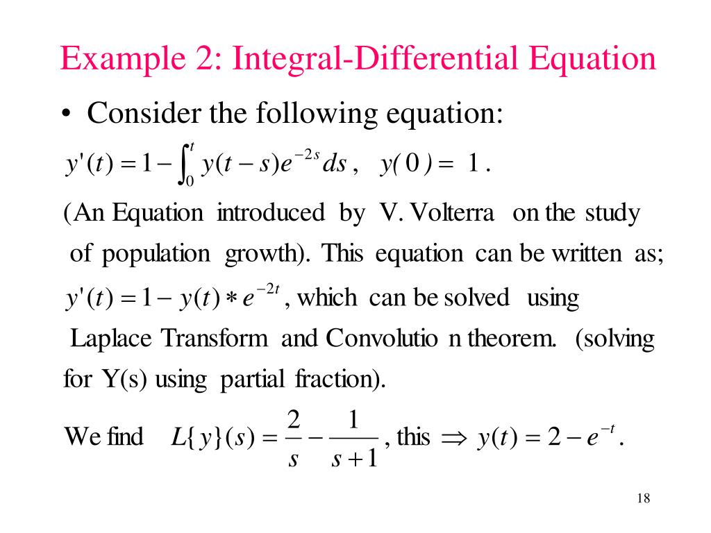Consider the following equation: