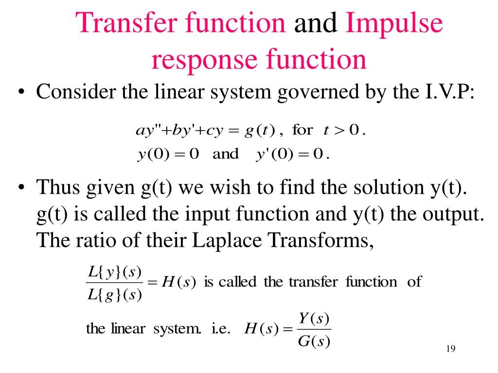 Consider the linear system governed by the I.V.P: