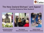 the new zealand bishops lent appeal
