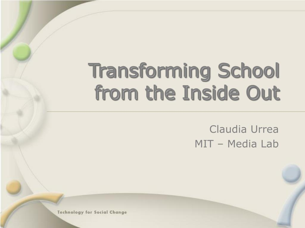 transforming school from the inside out l.