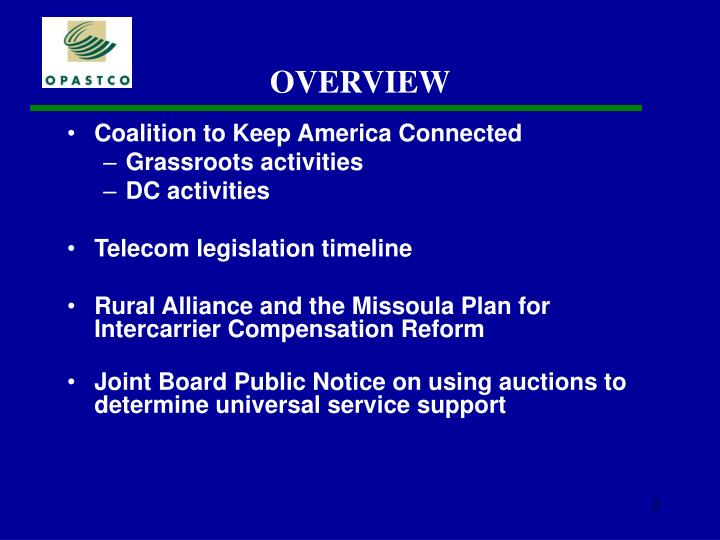 Coalition to Keep America Connected