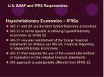 u s gaap and ifrs requirements49