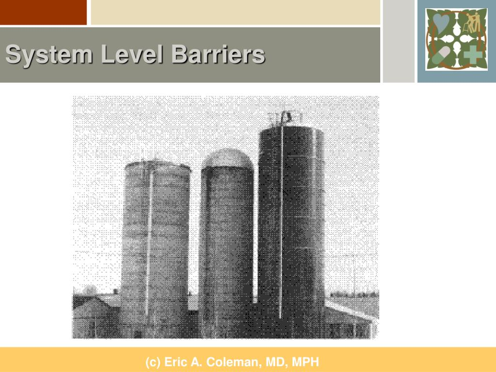 System Level Barriers