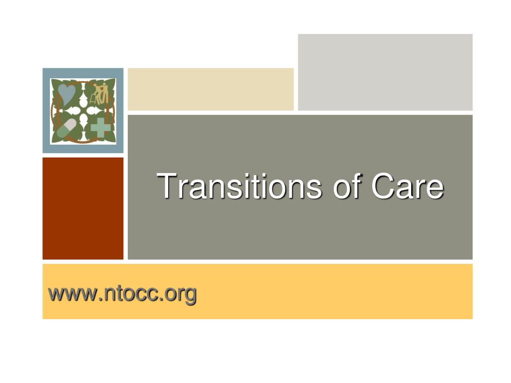 transitions of care l.