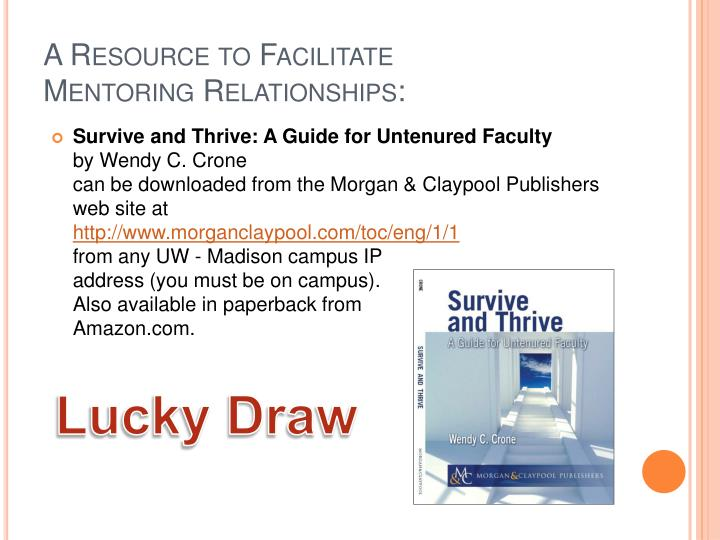 A Resource to Facilitate