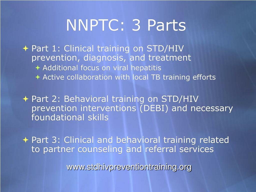 NNPTC: 3 Parts