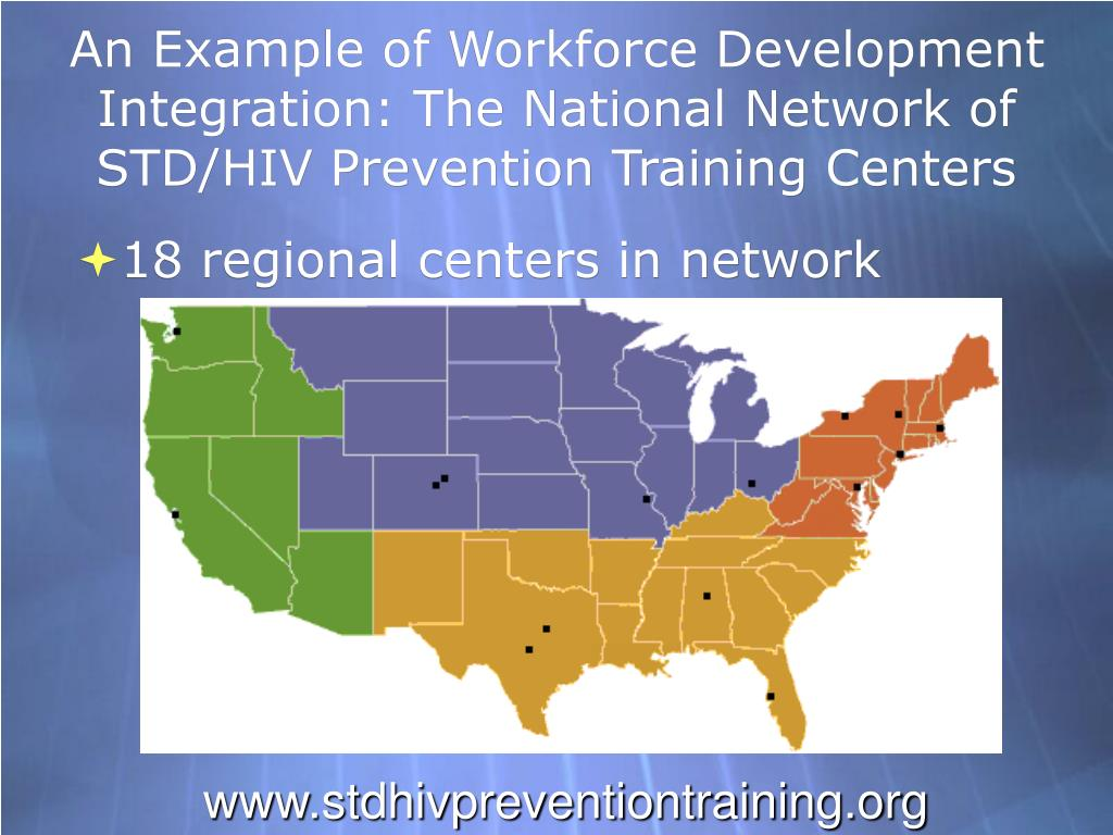 An Example of Workforce Development Integration: The National Network of STD/HIV Prevention Training Centers