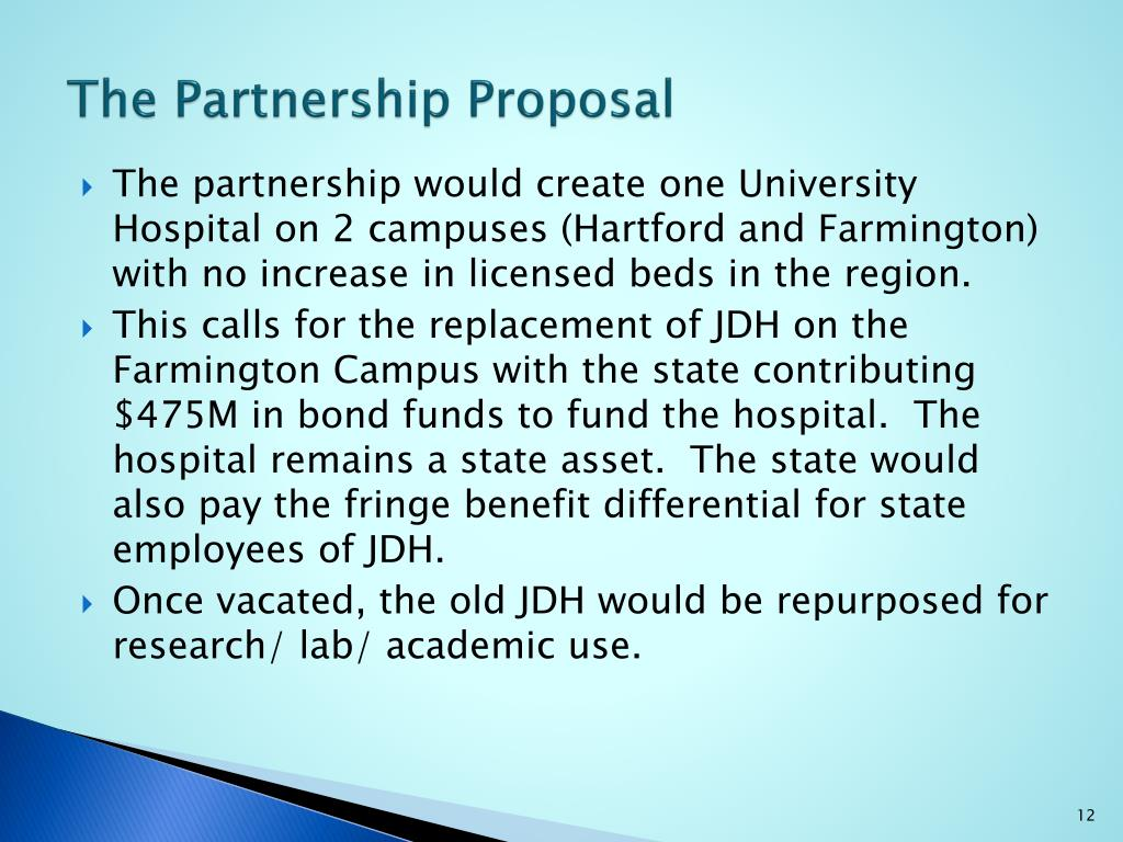 The Partnership Proposal