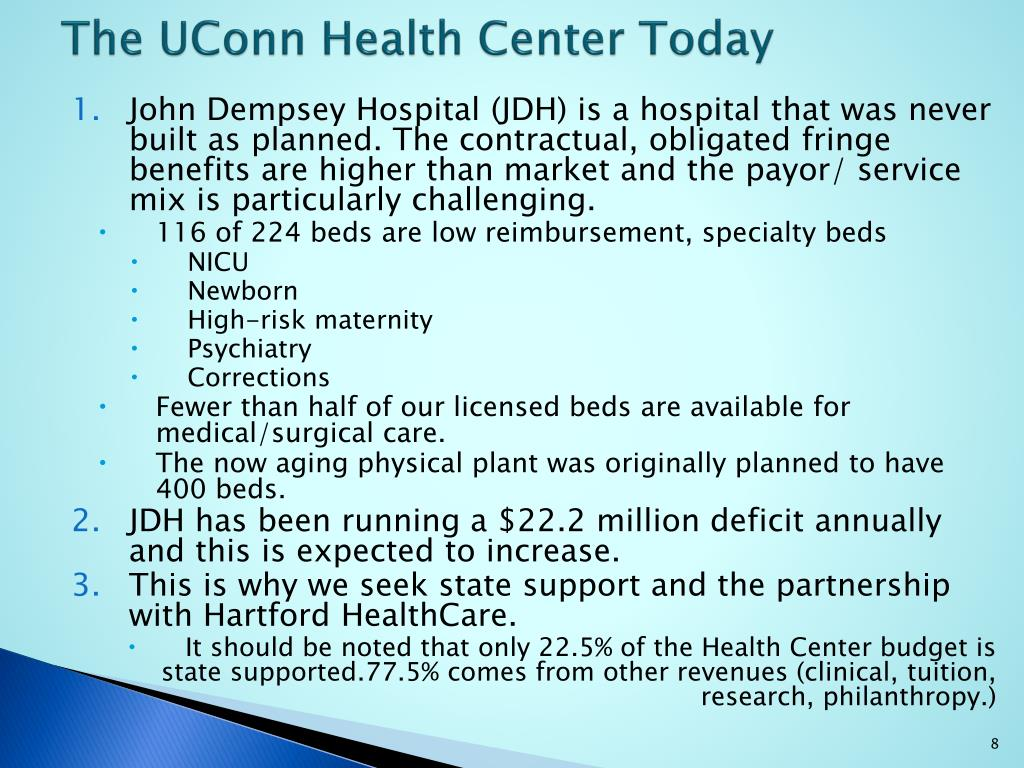 The UConn Health Center Today