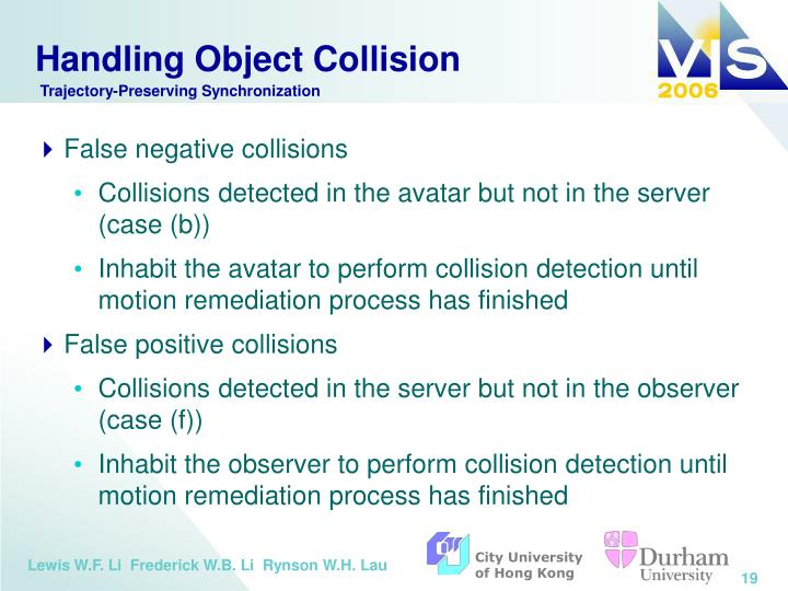 Handling Object Collision