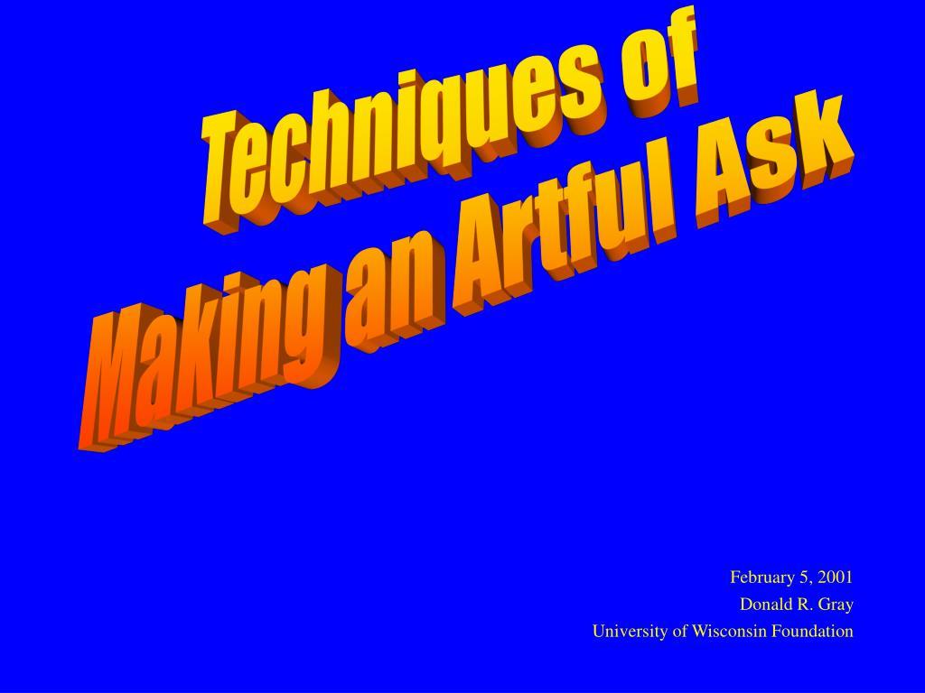 Techniques of