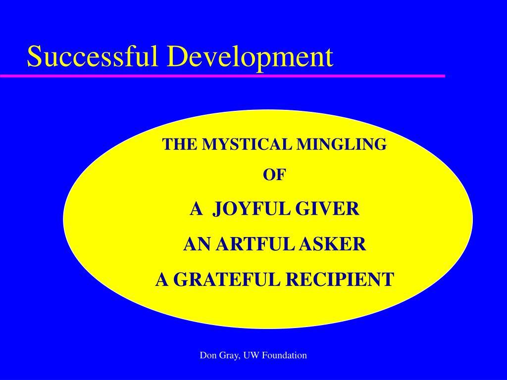 Successful Development