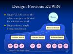 design previous kuwin
