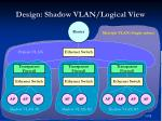 design shadow vlan logical view