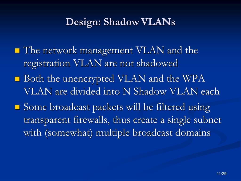 Design: Shadow
