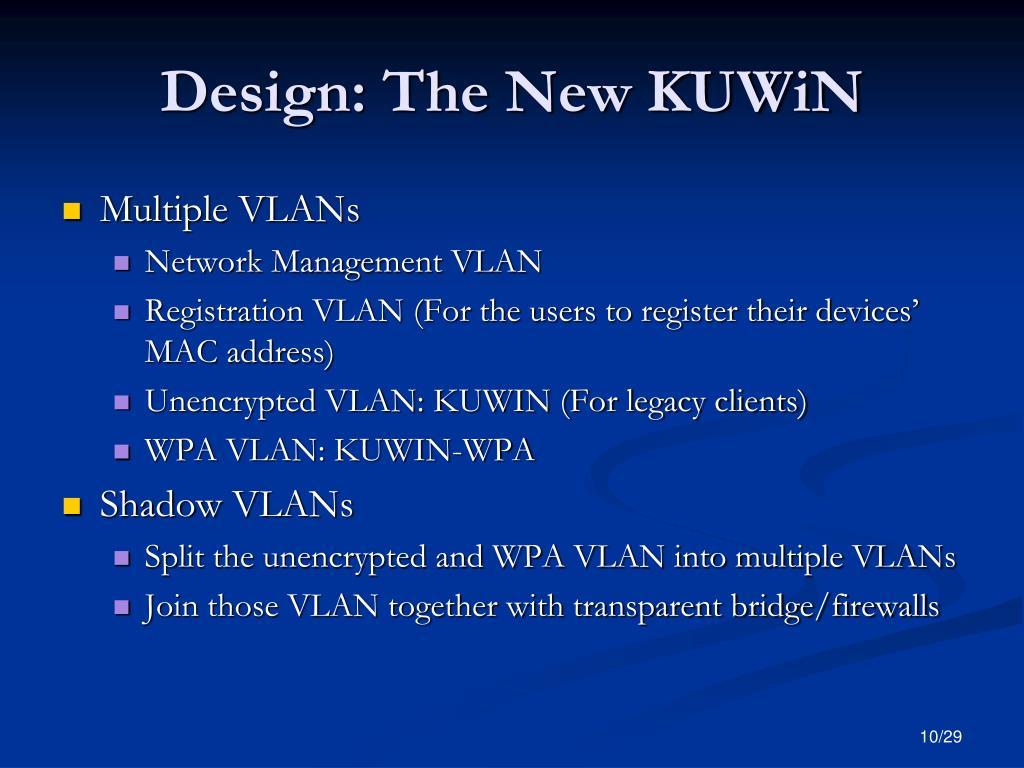 Design: The New KUWiN