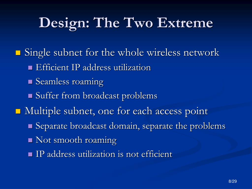 Design: The Two Extreme