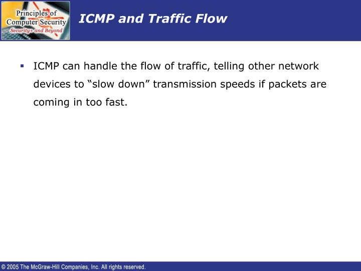 ICMP and Traffic Flow