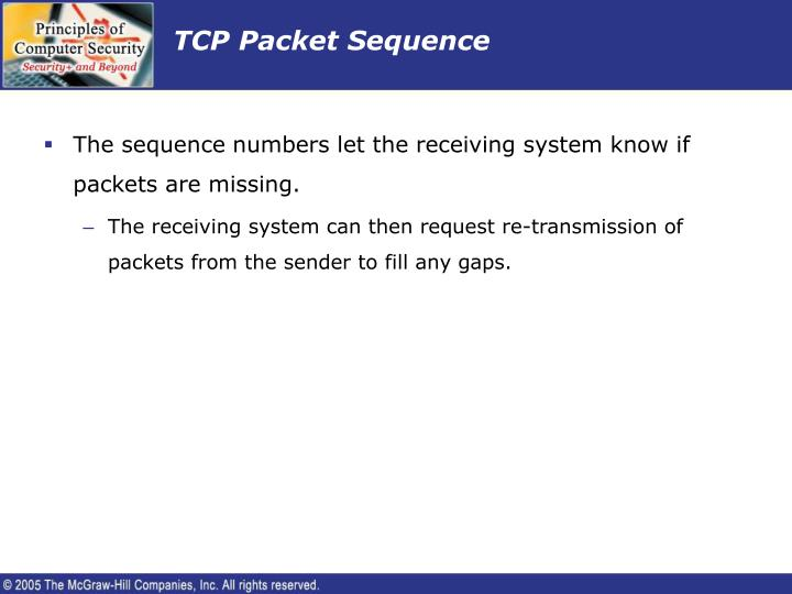 TCP Packet Sequence