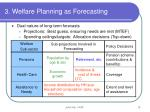 3 welfare planning as forecasting10