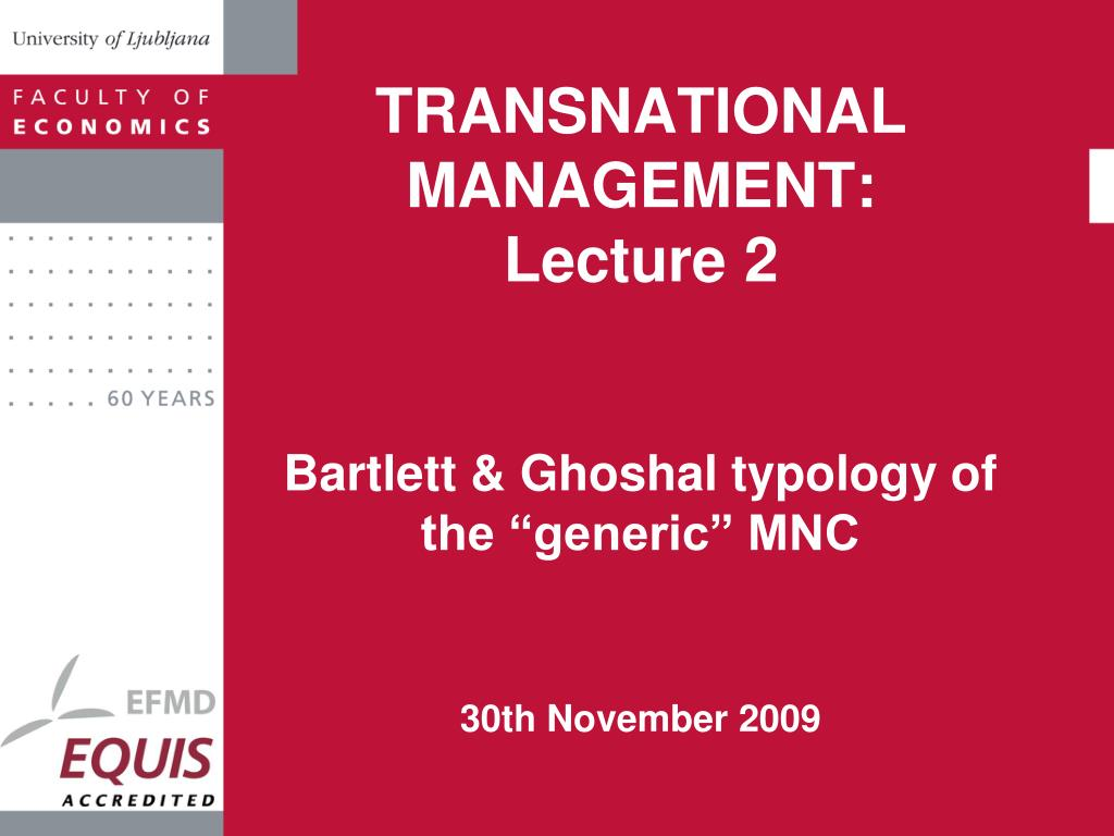 transnational management lecture 2 l.