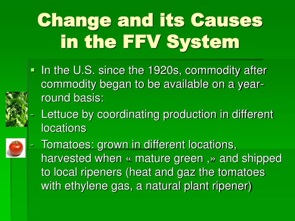 Change and its Causes