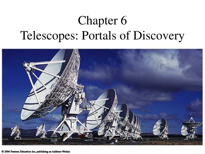 Chapter 6 telescopes portals of discovery