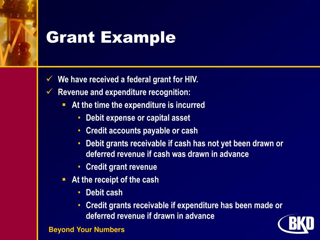 Grant Example