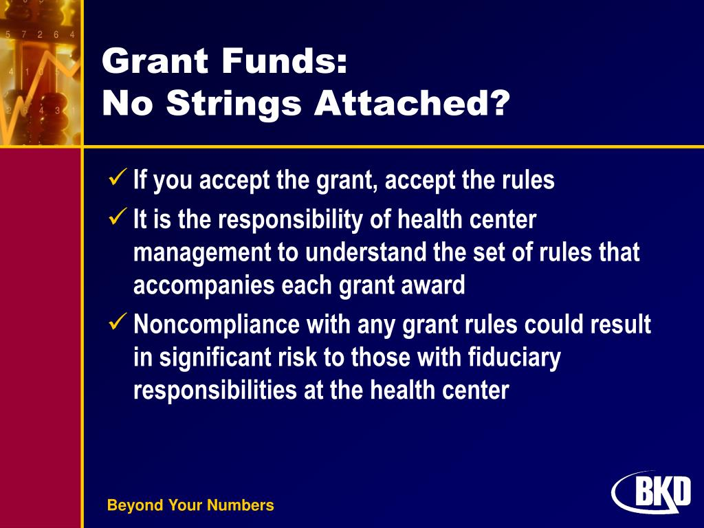 Grant Funds: