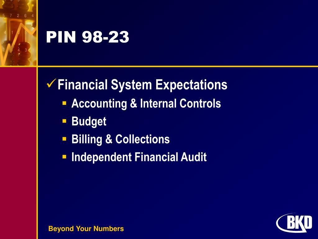 PIN 98-23