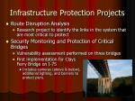 infrastructure protection projects