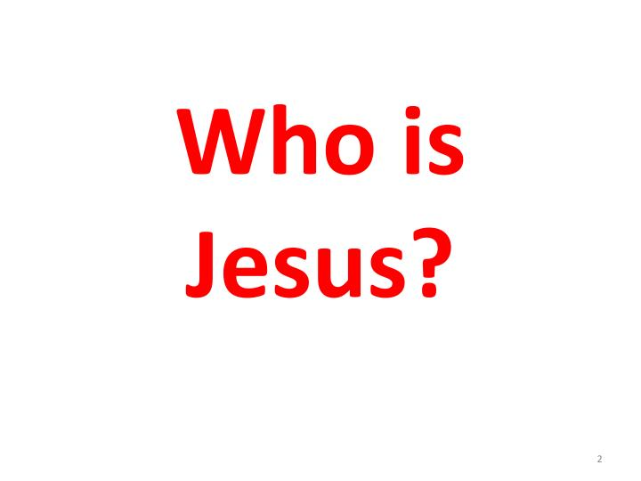 Who is jesus1