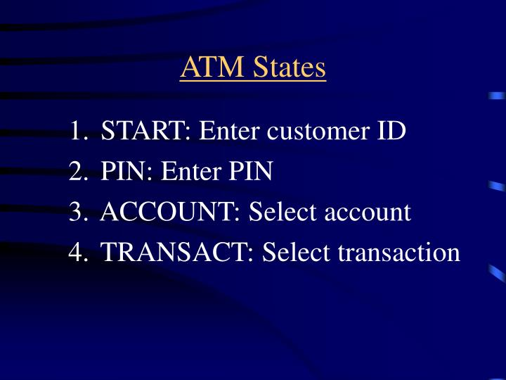 ATM States