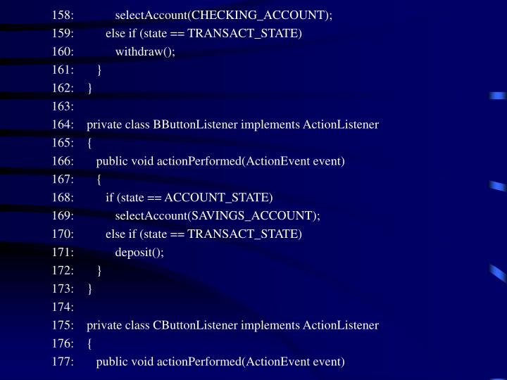 158:             selectAccount(CHECKING_ACCOUNT);