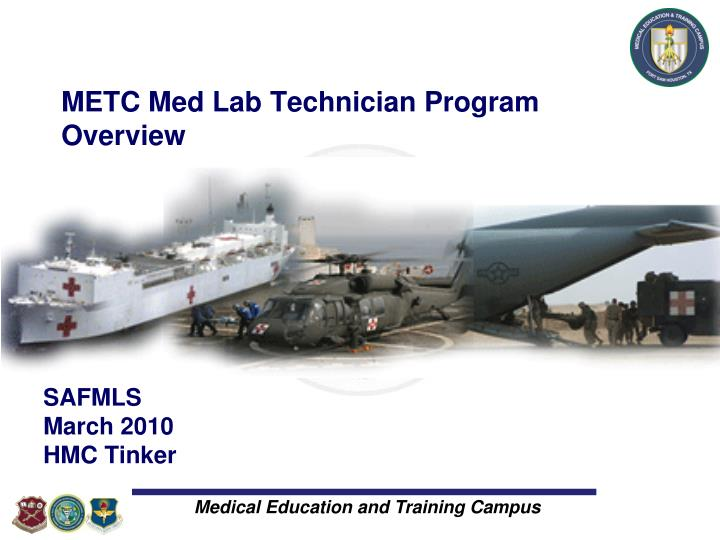 Metc med lab technician program overview