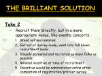 the brilliant solution2