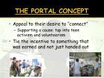 the portal concept