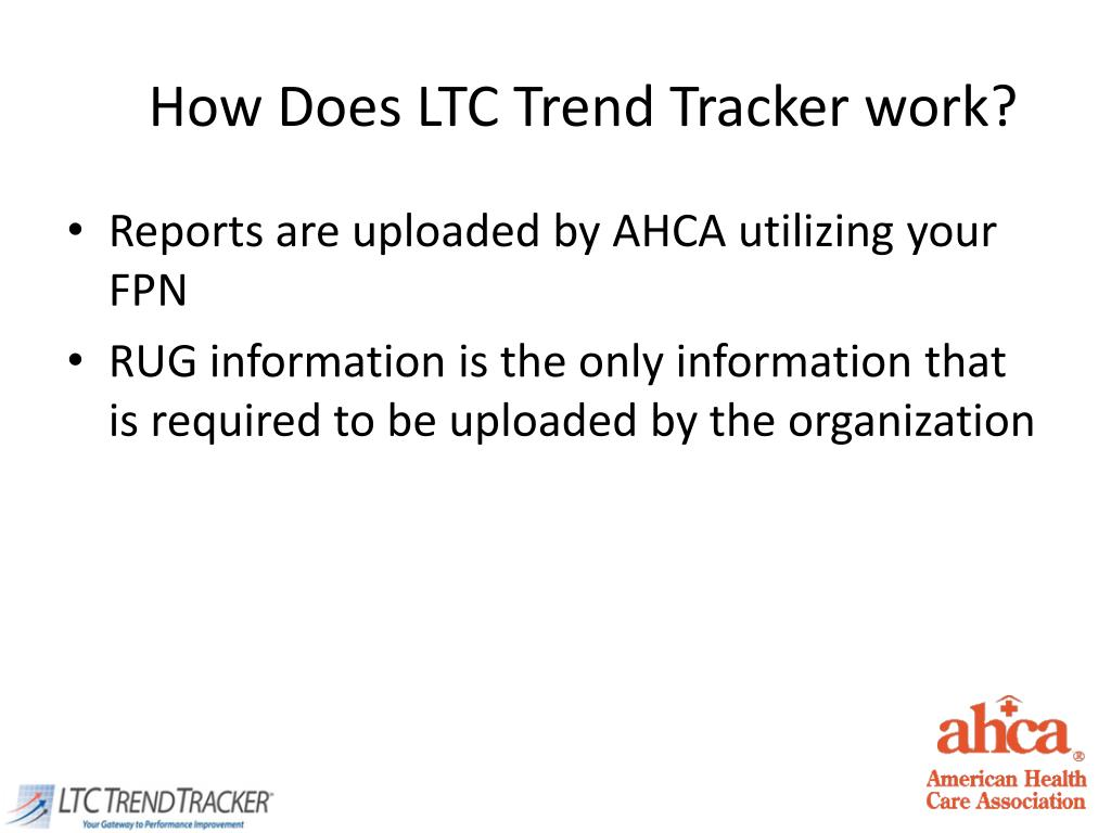 How Does LTC Trend Tracker work?