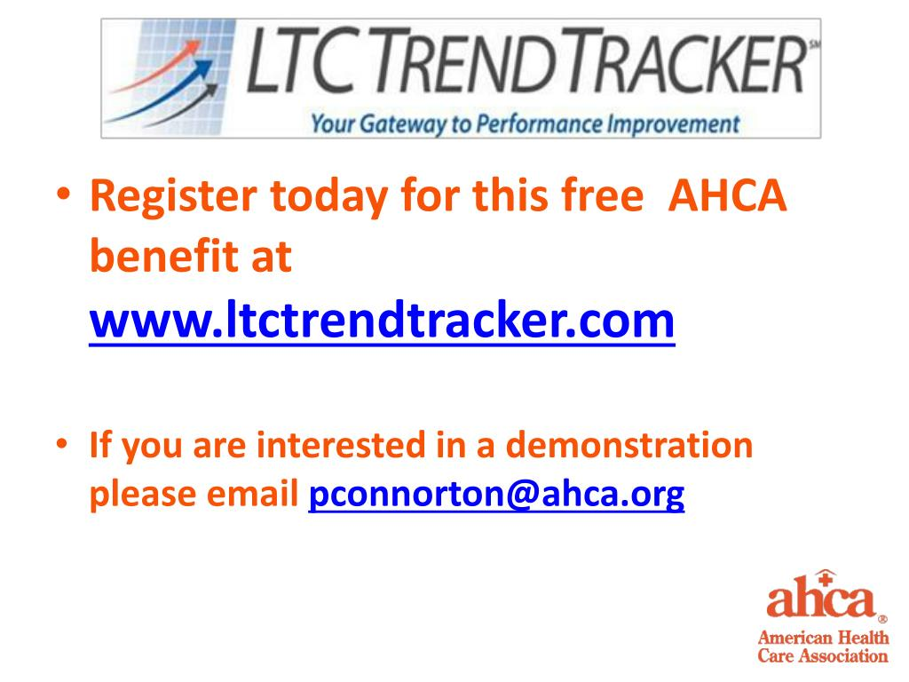 Register today for this free  AHCA benefit at