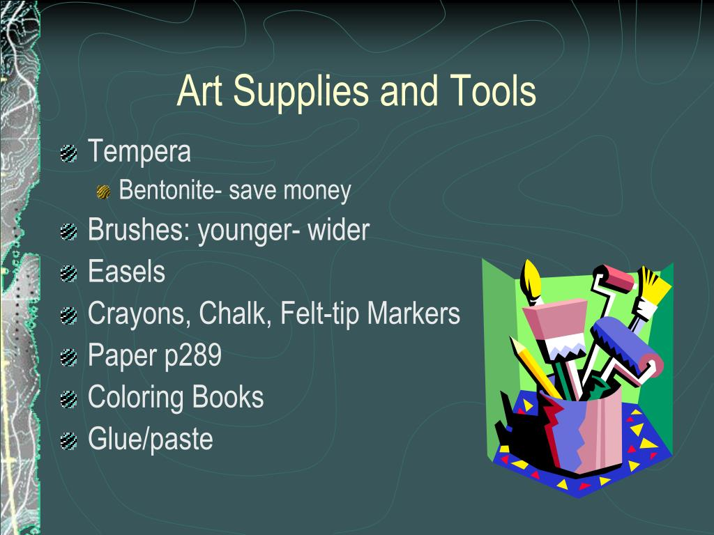 Art Supplies and Tools